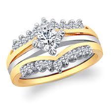 interlocked wedding rings two interlocking cz wedding ring set 17169 limoges jewelry