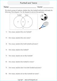 printable primary math worksheet worksheet pinterest venn