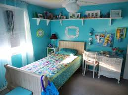 Blue Bedroom Ideas Pictures by Dark Cherry Wood L Shaped Cabinet Light Blue Bedroom Ideas For