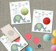twins baby shower gift tags for eos lip balm gifts thank you