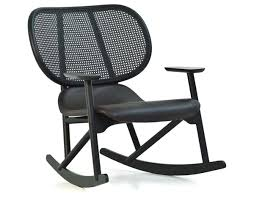 Rocker Chair Klara Rocking Chair With Cane Back Hivemodern Com
