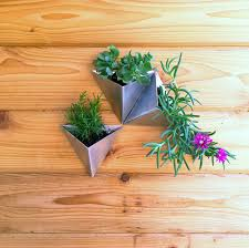 Livingroom Candidate Tessellations Set Of 3 Modern Wall Planter