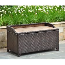 outdoor storage benches treenovation throughout waterproof