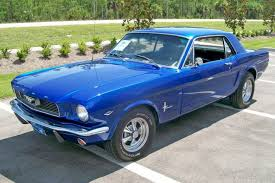 ford 66 mustang acapulco blue 1966 ford mustang hardtop mustangattitude com