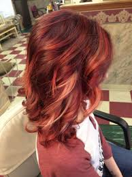 idears for brown hair with blond highlights latest ideas for brown hair with red and blonde highlights