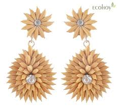 eco earrings 19 best eco friendly jewellery images on eco friendly