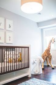 the safari inspired nursery pays homage to the son u0027s maternal