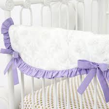 Baby Crib Sets Lovley Damask Vintage Gray U0026 Lavender Crib Set Caden Lane