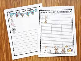 election day activities for kinder