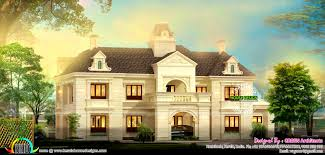 french colonial house plans kitchen terrific french style home architecture kerala design