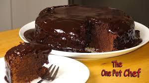 dark chocolate mud cake one pot chef youtube