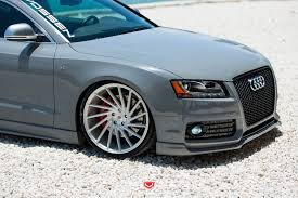 nardo grey larry u0027s nardo grey audi s5 vossen forged vps 304 wheels