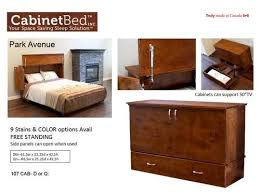 Cabinet Bed Frame Cabinet Bed Discount Furniture Warehouse