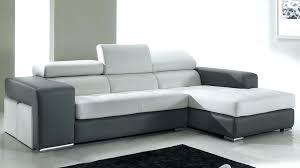 canapé en cuir d angle canape cuir blanc convertible canapacs cuir design sirio blanc