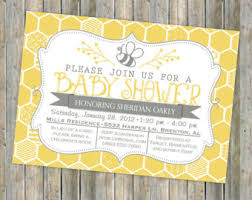 bee baby shower bee baby shower invitations marialonghi