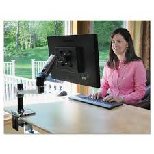 Ergotron 200 Series Wall Mount Arm Amazon Com Lx Desk Mount Lcd Arm Computers U0026 Accessories