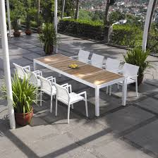 9 Pc Patio Dining Set by Modern Furniture Modern Patio Dining Furniture Expansive Cork