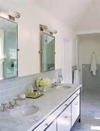 Two Tone Bathroom Gray Tones Bathroom Tiles Tsc