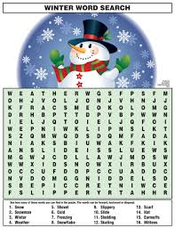 Printable Halloween Word Search Puzzles by Winter Word Search Https Www Djs Durban U2026 Pinteres U2026