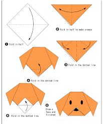finally pattern for origami dachshund diy ornaments