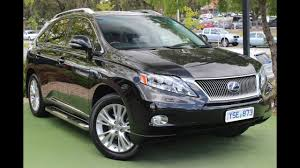 lexus rx450h sport b5878 2011 lexus rx450h sports luxury auto 4x4 my11 walkaround