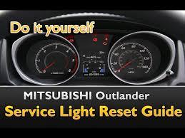 mitsubishi fuso service light reset mitsubishi outlander service oil life light reset guide youtube