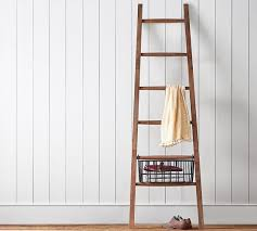 Leaning Bathroom Ladder Over Toilet by Over The Toilet Ladder Pottery Barn Best Ladder 2017