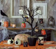 vintage halloween collector spooky trees at pottery barn