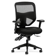Executive Office Chairs Fabric Basyx By Hon Vl532mm10 Executive Task Chair Fabric Black Seat
