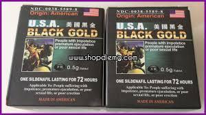 thuốc black gold usa cách làm cương dương lâu