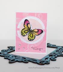 butterfly layer stamp thank you card tutorial fun stampers