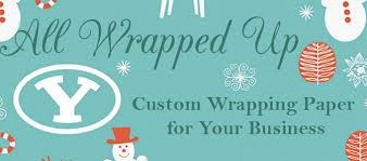 custom wrapping paper all wrapped up custom wrapping paper for your business