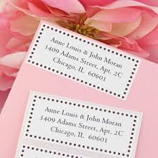 wedding invitation address labels wedding address labels the of versailles