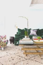 creative living room green sofa room design ideas unique and