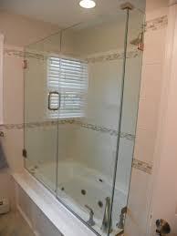 glass shower doors for tubs half glass shower door bathtub doors tub enclosures dual sliding