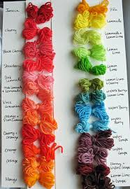 sprinkle dyed yarn diy from chalk legs great technique for our