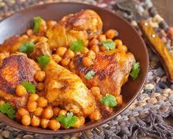 cuisiner des pois chiches recette tajine de poulet aux pois chiches et aux épices facile rapide