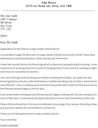 sample cover letter for truck driver geotechnical engineer cover