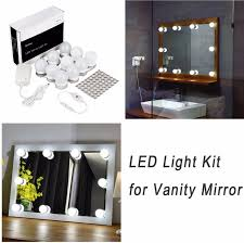 Table Vanity Mirror Led Vanity Mirror Lights Kit For Makeup Dressing Table