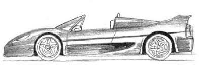 imagenes de ferraris para dibujar faciles cómo dibujar un ferrari f50 y un corvette paso a paso de pe arte