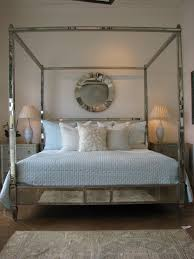 Bed Frame Post by Bed With Mirrored Canopy 114 Inspiring Style For Wood Canopy Bed