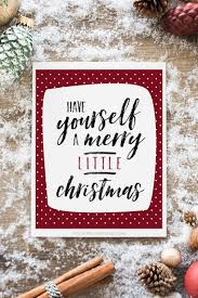 yourself a merry free printable