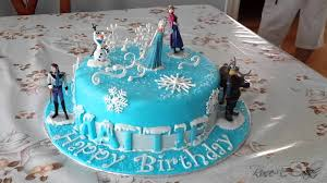frozen cake inspired hit disney movie