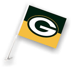 Car Flag Amazon Com Nfl Green Bay Packers Car Flag Outdoor Banners