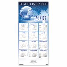 peace for 2018 calendar cards deluxe