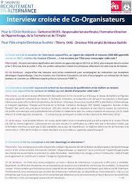 chambre de commerce bordeaux recrutement dossier presse salon recrutement alternance bordeaux 2016