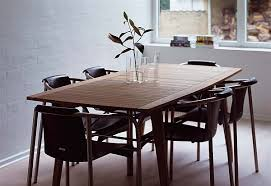 retro dining table and chairs teak furniture for a retro chic look