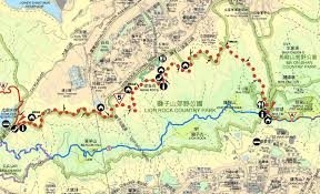 Rock Tunnel Leaf Green Map Amah Rock Walk U2013 Easy Hike Wilson Trail Stage 5 U2013 Hk Files
