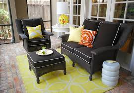 Cushions For Wicker Patio Furniture Black Patio Furniture Cushions Patio Furniture Conversation