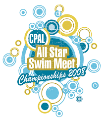 Swimming Logo Design by Central Pennsylvania Aquatic League Official All Star Site